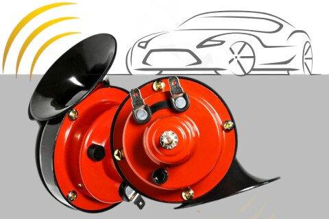 Električna sirena za automobile LoudHorn, 105 dB, 2 komada
