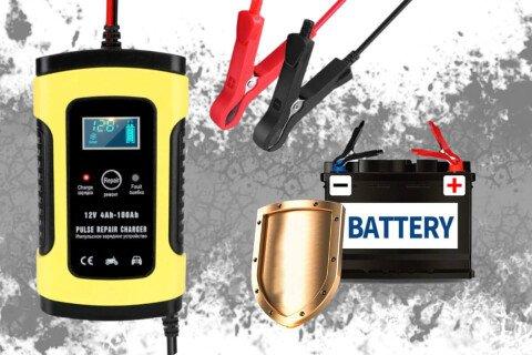 Punjač akumulatora SafeVoltage, 12V