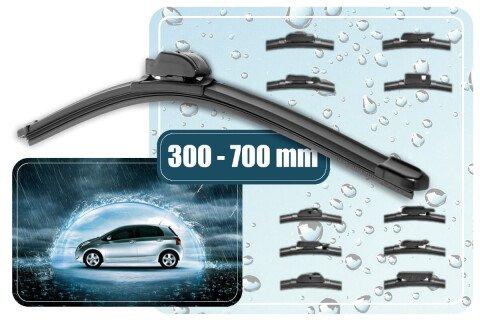 Metlice brisalcev Silux Wiper, 300-700 mm