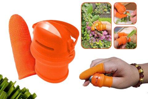 Vrtnarski nož FingerKnife, naprstni + zaščita za prst
