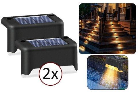 SolarNight vanjska solarna svjetla, bez žica, 2 komada