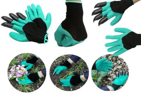 Baštenske rukavice QuickClaws, univerzalne veličine, plastične kandže
