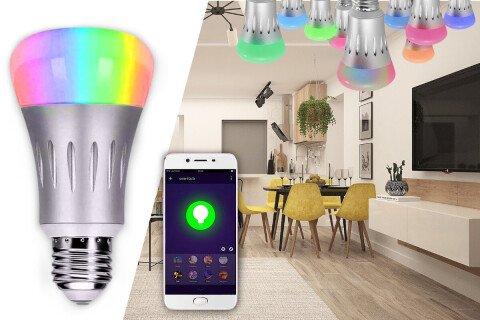 Pametna žarnica SmartLight, WiFi upravljanje, 16 milijonov barv, 7W