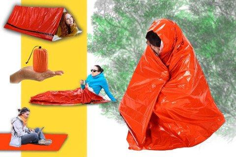 Termo vreća za spavanje za preživljavanje u ekstremnim uslovima SurvivalBlanket