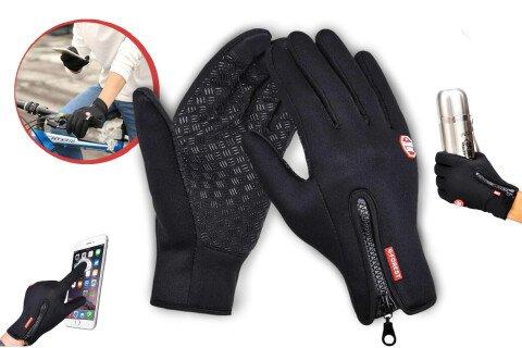 Termo rukavice za ekran na dodir WarmTouch, Touchscreen, neklizajuće, sport
