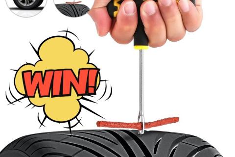 Set orodij za popravilo pnevmatike