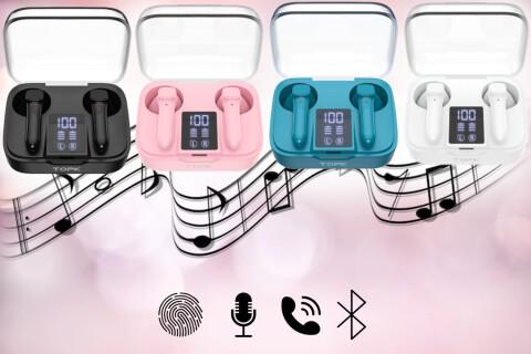 Bežične Bluetooth slušalice WonderSound, LED ekran, HD poziv