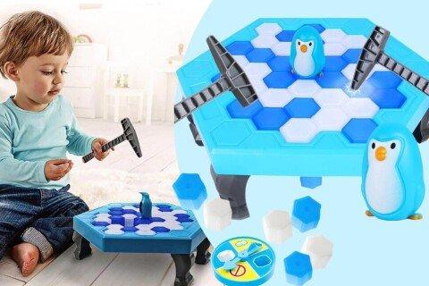 Dječja društvena igra IcePenguin, misaona, 3+ godine