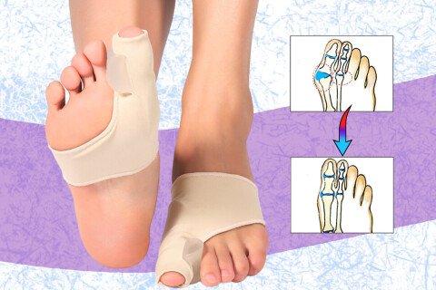 Ortopedski korektor za nožne prste OrtoFeet, 1 par: lijevo + desno