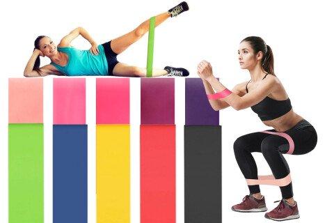 Fitnes trake za vježbanje HomeTraining, 5 komada