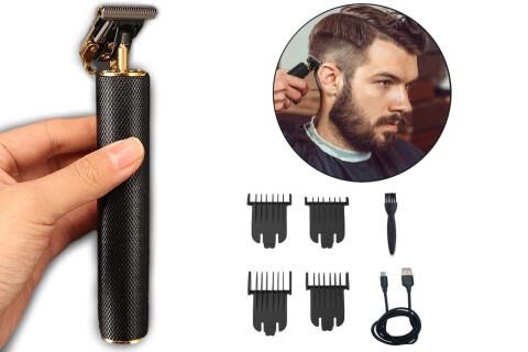 Električni trimer brade i kose za muškarce PreciseCut, s T oštricom